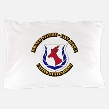 Kagnew Station - East Africa with Text Pillow Case