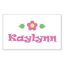 """Pink Daisy - """"Kaylynn"""" Rectangle Decal"""