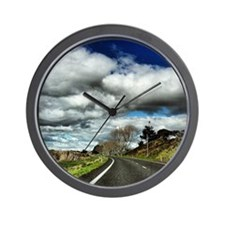 Beautiful New Zealand – Coast Road Wall Clock