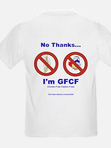 """""""GFCF"""" backprinted Kids T-Shirt"""