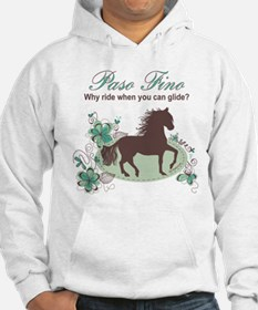 Paso Fino - Why Ride When You Can Glide Teal/Brown