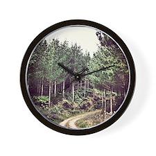 Beautiful New Zealand – Forrest Corner Wall Clock