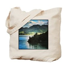 Beautiful New Zealand – Beach and Mountai Tote Bag