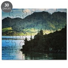 Beautiful New Zealand – Beach and Mountain  Puzzle