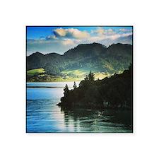 """Beautiful New Zealand – Bea Square Sticker 3"""" x 3"""""""