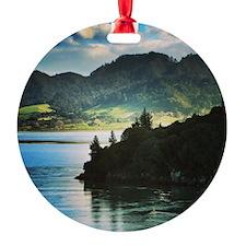 Beautiful New Zealand – Beach and M Ornament