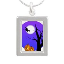 Halloween Witch Jack-o-Lantern Pumpkins Necklaces