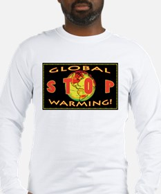 Stop Global Warming Long Sleeve T-Shirt