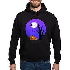 Halloween Witch Jack-o-Lantern Pumpkins Hoodie