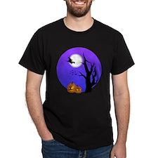 Halloween Witch Jack-o-Lantern Pumpkins T-Shirt