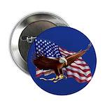 American Flag and Eagle - Patriotism 2.25