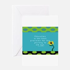 Teacher Tote 1 Greeting Cards