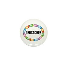 GPS Oval Mini Button (10 pack)