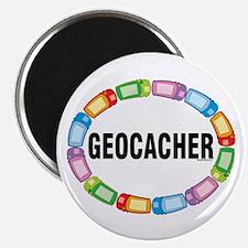GPS Oval Magnet