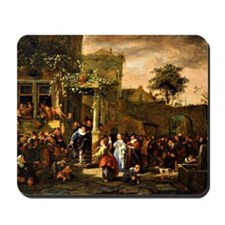 Steen - A Village Wedding Mousepad