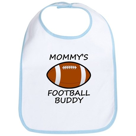 Mommys Football Buddy Bib