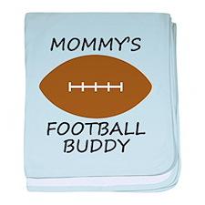 Mommys Football Buddy baby blanket
