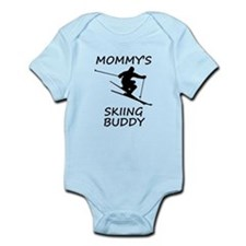Mommys Skiing Buddy Body Suit