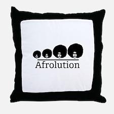 Afro Afrolution Throw Pillow