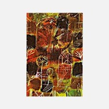 Klee - Cosmic Composition Rectangle Magnet