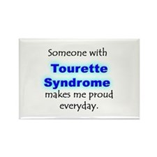 """Tourette Syndrome Pride"" Rectangle Magnet"