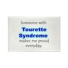 """Tourette Syndrome Pride"" Rectangle Magnet"
