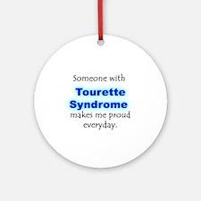 """""""Tourette Syndrome Pride"""" Ornament (Round)"""