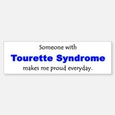 """Tourette Syndrome Pride"" Bumper Bumper Bumper Sticker"