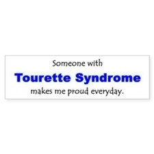 """Tourette Syndrome Pride"" Bumper Bumper Sticker"