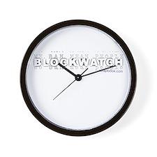 """Ban Mean People V2"" Wall Clock"