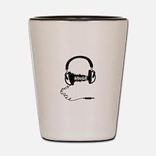 Headphones Headphones Audio Wave Motif: Shot Glass