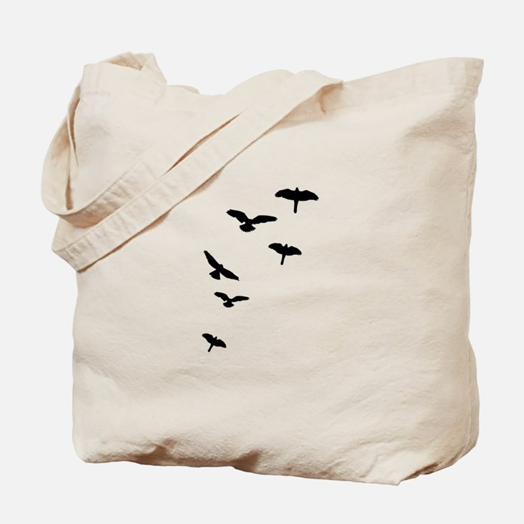 Flying Birds, the free-flying birds Tote Bag