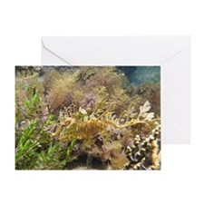Underwater Ballerina Greeting Card