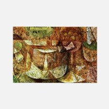 Klee - Still Life with Dove Rectangle Magnet