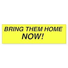 10x3 Bumper Sticker - Bring Them Home Now!