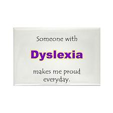 """Dyslexia Pride"" Rectangle Magnet"