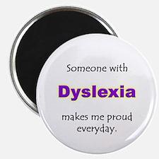 """""""Dyslexia Pride"""" Magnet"""