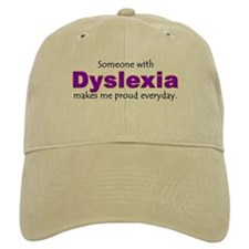 """""""Dyslexia Pride"""" Baseball Cap"""
