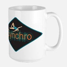Synchronized swimming Large Mug