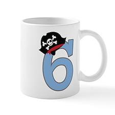 6th Birthday Pirate Mugs