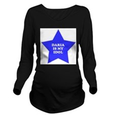 star-daria.png Long Sleeve Maternity T-Shirt