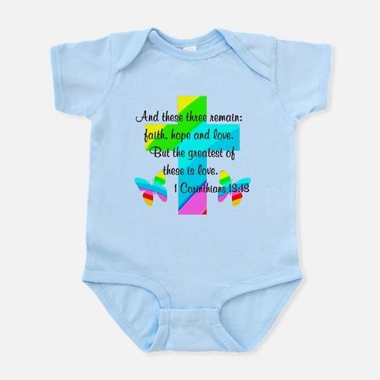1 CORINTHIANS 13:13 Infant Bodysuit