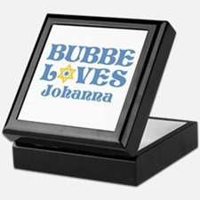 Personalized Bubbe Loves Me Star Keepsake Box