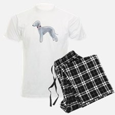 Larry, the Bedlington Terrier pajamas
