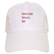 Not Zombies Red Baseball Cap