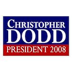 Dodd: President 2008 bumper sticker