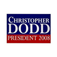 Dodd: President 2008 Fridge Magnet
