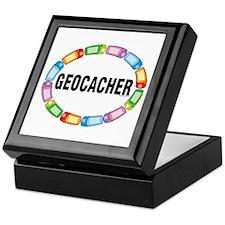 GPS Oval Keepsake Box