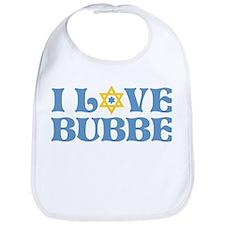 I love Bubbe Star Bib
