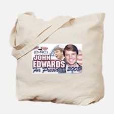 John Edwards Flag Tote Bag